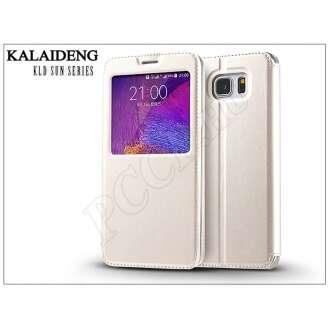 Samsung Galaxy Note 5 fehér flip tok