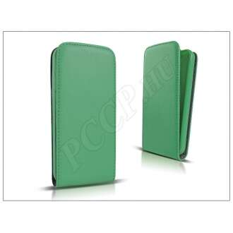Apple Iphone 7 Plus lime bőr flip tok