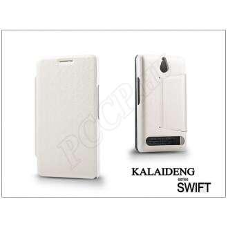 Sony Xperia E1 (D2005) fehér flip tok