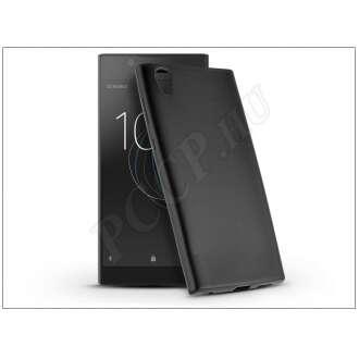 Sony Xperia L1 (G3311/G3313) fekete szilikon hátlap