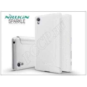 Sony Xperia X (F5121) fehér oldalra nyíló flip tok