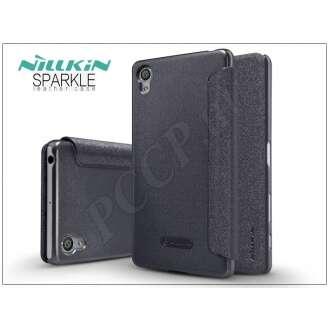Sony Xperia X (F5121) fekete oldalra nyíló flip tok