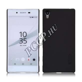Sony Xperia X fekete vékony szilikon hátlap