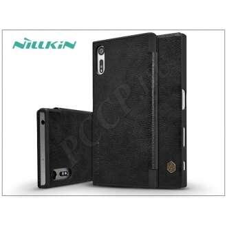 Sony Xperia XZ (F8331) fekete oldalra nyíló flip tok