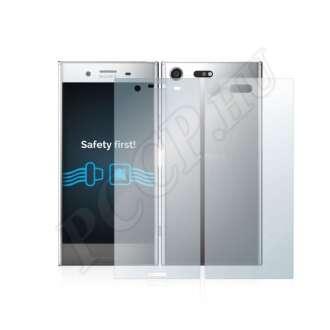 Sony Xperia XZ Premium (elő- és hátlap) kijelzővédő fólia