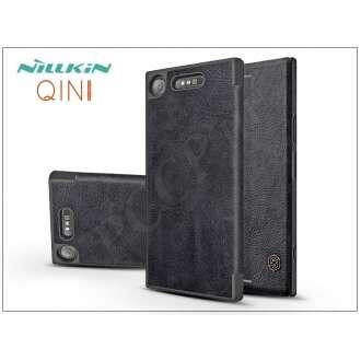 Sony Xperia XZ1 (G8341) fekete oldalra nyíló flip tok