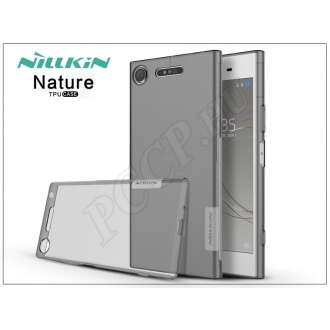 Sony Xperia XZ1 (G8341) szürke szilikon hátlap