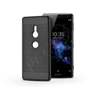 Sony Xperia Xz2 fekete szilikon hátlap