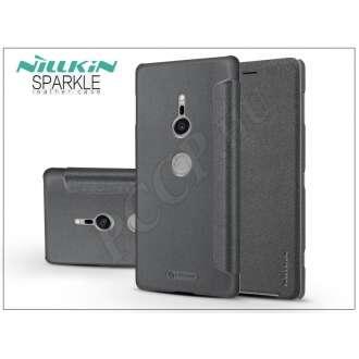 Sony Xperia Xz2 fekete oldalra nyíló flipes tok