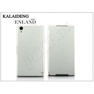 Sony Xperia Z2 (D6503) fehér flip tok