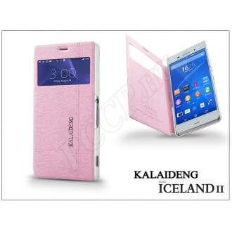 Sony Xperia Z3 (D6603) pink flip tok