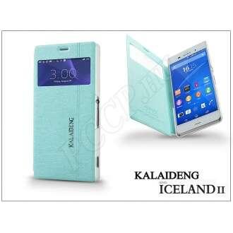 Sony Xperia Z3 (D6603) kék flip tok