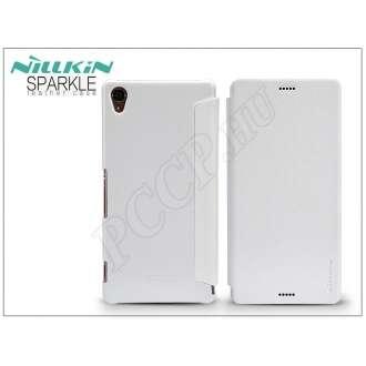 Sony Xperia Z3 (D6603) fehér oldalra nyíló flip tok