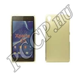Sony Xperia Z3 átlátszó vékony szilikon hátlap