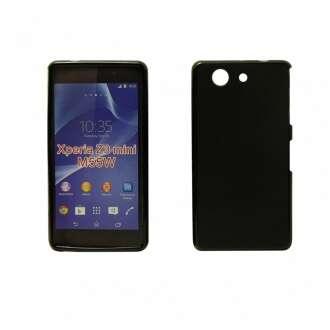 Sony Xperia Z3 fekete vékony szilikon hátlap