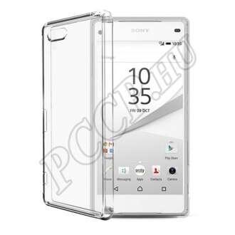Sony Xperia Z5 Compact átlátszó ultravékony szilikon hátlap