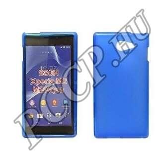 Sony Xperia Z5 Compact kék vékony szilikon hátlap