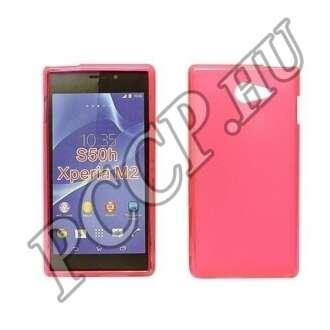 Sony Xperia Z5 Compact pink vékony szilikon hátlap