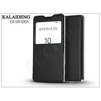 Sony Xperia Z5 (E6653) fekete flip tok