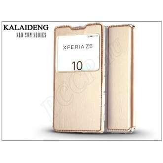 Sony Xperia Z5 (E6653) arany flip tok