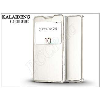 Sony Xperia Z5 (E6653) fehér flip tok