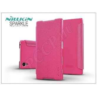 Sony Xperia Z5 (E6653) pink oldalra nyíló flip tok