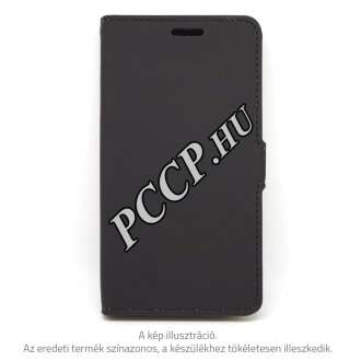 Vodafone Smart V8 fekete book cover tok