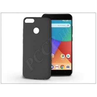 Xiaomi Mi 5X fekete szilikon hátlap
