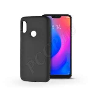 Xiaomi Mi A2 Lite fekete szilikon hátlap