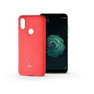 Xiaomi Mi A2 pink szilikon hátlap