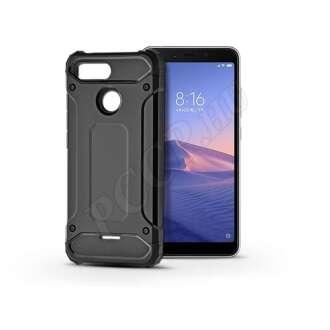 Xiaomi Redmi 6 fekete ütésálló hátlap