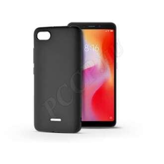 Xiaomi Redmi 6A fekete szilikon hátlap
