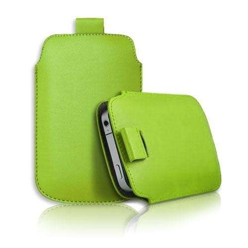 Apple Iphone 5 zöld slim bőr tok