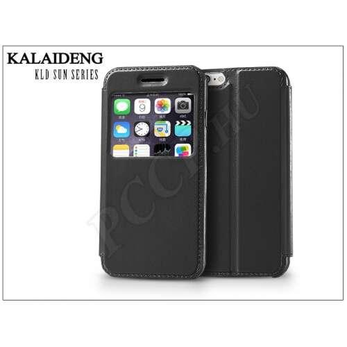 Apple Iphone 6 fekete flip tok