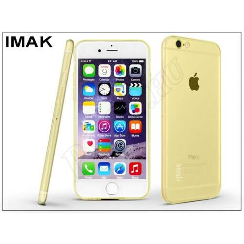 Apple Iphone 6 arany szilikon hátlap