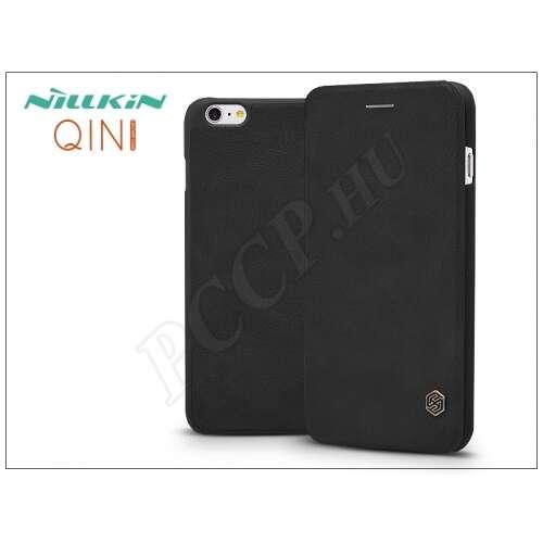 Apple Iphone 6S fekete oldalra nyíló flip tok