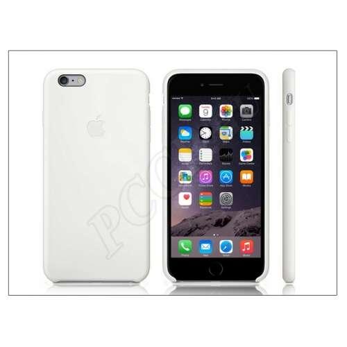 Apple Iphone 6S Plus fehér szilikon hátlap