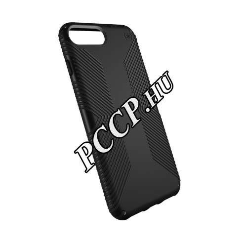 Apple Iphone 8 Plus fekete karbon hátlap