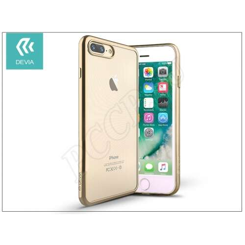 Apple Iphone 8 Plus pezsgõ szilikon hátlap