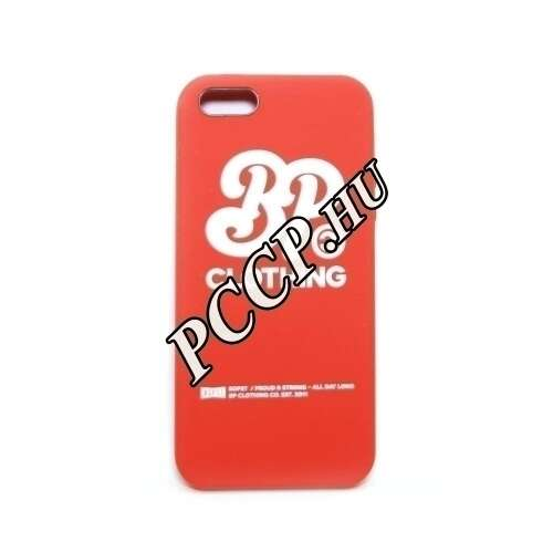 Apple Iphone SE piros design hátlap