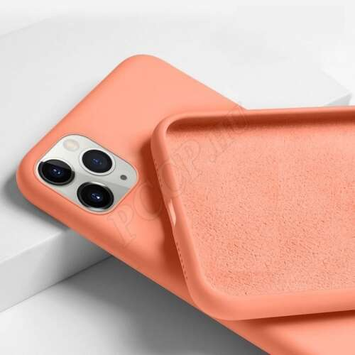 Apple Iphone XS Max narancs szilikon hátlap