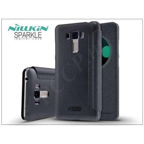 Asus Zenfone 3 Laser (Zc551Kl) fekete oldalra nyíló flip tok
