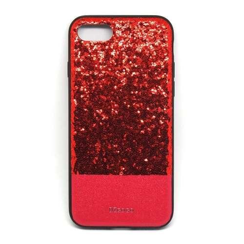 Apple Iphone 8 Plus csillogó piros design hátlap