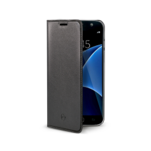 Samsung Galaxy S7 fekete flip cover tok