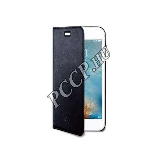 Huawei P10 Lite fekete flip cover tok