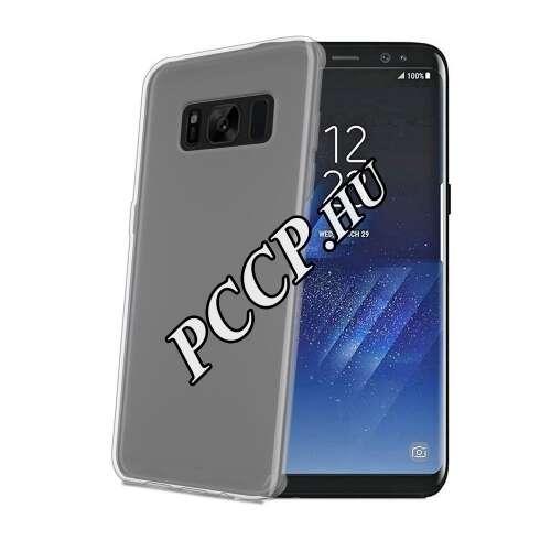 Samsung Galaxy S8 fehér szilikon hátlap