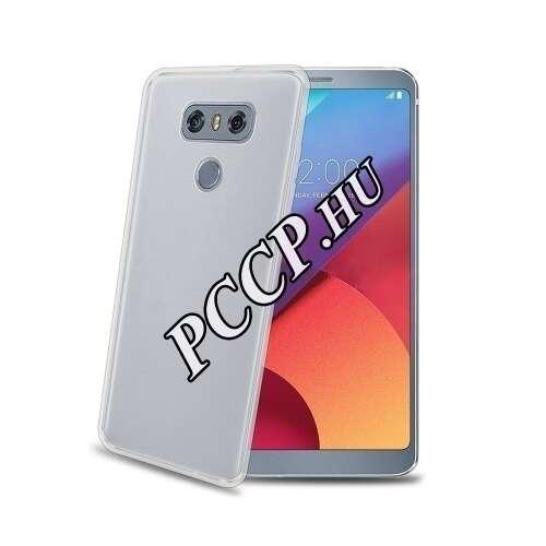 LG G6 átlászó szilikon hátlap
