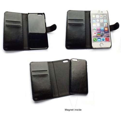 Samsung Galaxy S6 fekete flip oldalra nyíló tok