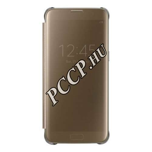 Samsung Galaxy S8 Plus arany clear view cover tok