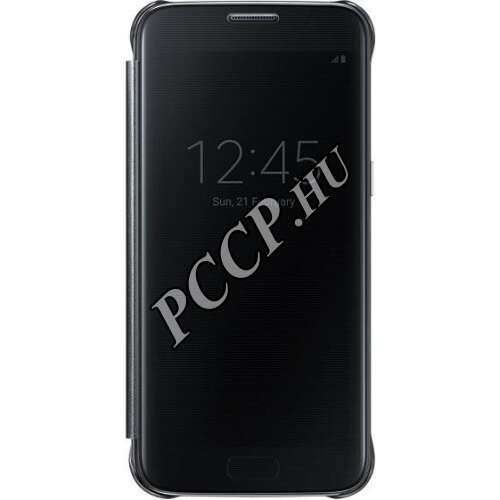 Samsung Galaxy S8 fekete Clear View cover tok